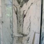 Brecchia Capraia Slab Shower