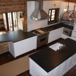 Absolute Black Hone Counters and Island