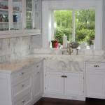 Calacatta Gold 5cm with custom sink